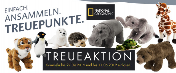 Combi Treueaktion National Geographic